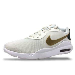 Womens Nike Air Max Oketo Sneakers Sail/Gold NEW